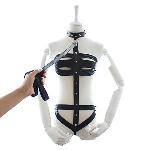 Charly Zhou's Shop Erotic Adult Game Slave Bondage Lingerie Costume Black (Sex Slave Costumes)