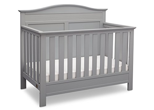 - Serta Barrett 4-in-1 Convertible Baby Crib, Grey