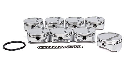 D.S.S. Racing SBC 4.155 in Bore GSX Series Forged Piston 8 pc P/N 2705X-4155