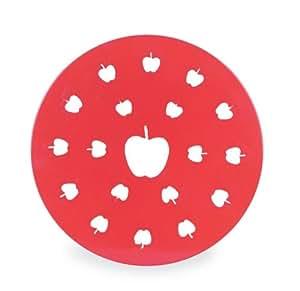 Fox Run 4780 Apple Pie Top Cutter, Plastic, Red