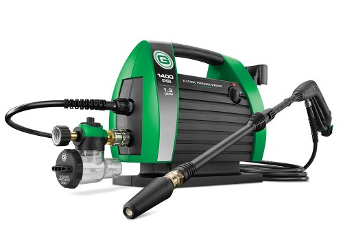 Power Stroke Green Earth Technologies 1421 G-CLEAN 1400 PSI Portable Electric Pressure Washer