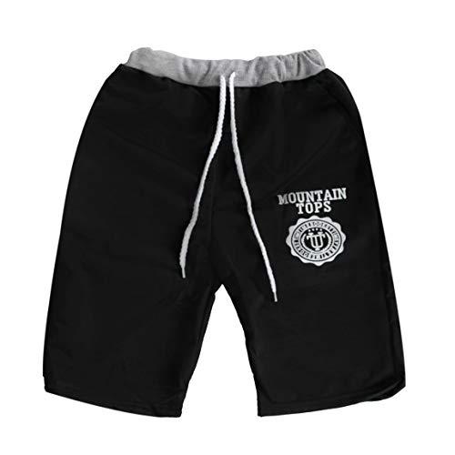 Poignets Coton Casual t Pantalon Confortable lastique Taille sous Shorts Femmes de Plage Hommes Taille mlang Moyenne Cinq nw1qaXqYBx