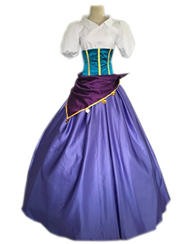 [Cosrea Cosplay The Hunchback Of Notre Dame Esmeralda Cosplay Costume Custom Sizing (Large)] (Hunchback Costumes)