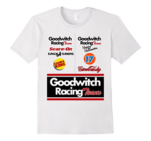 Race Woman Halloween Car Costume Driver (Mens Race car driver Halloween costume t-shirt for men women boys 2XL)