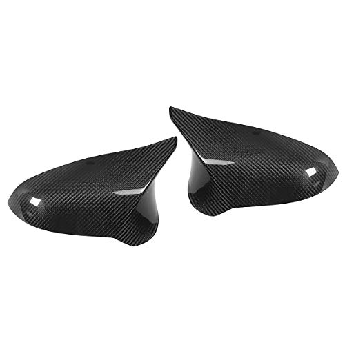 - Ninth-City Right Hand Side Performance Style Carbon Fiber Side Car Mirror Cover Caps for BMW 2015-2018 F82 M4