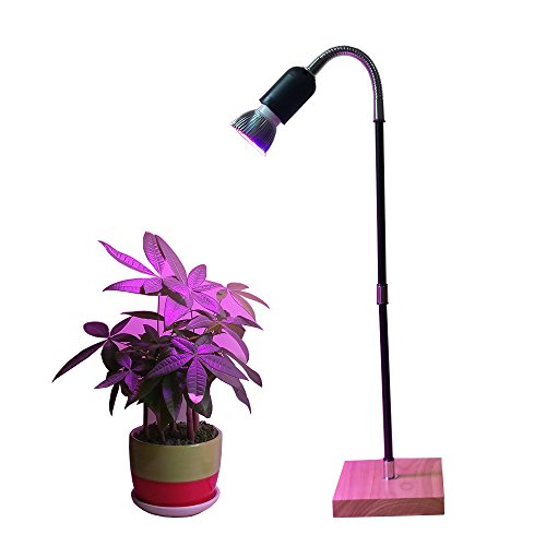 LED Grow Lights, Full Spectrum LED Plant Grow Lamps Desk Table Lamp for Indoor Plants Hydroponic Garden Greenhouse by AiHihome