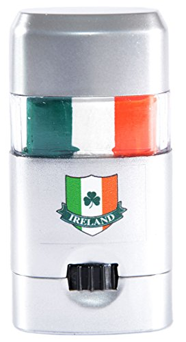 (St. Patrick's Day Ireland Tri Colour Face Paint, Comes in Silver Container)