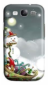 Samsung S3 Case Christmas Playground 3D Custom Samsung S3 Case Cover WANGJING JINDA