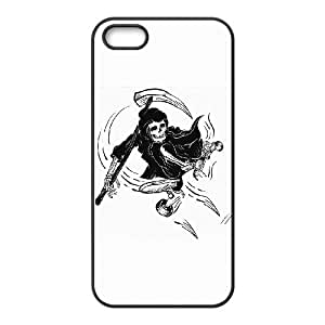 iPhone 5 5s Cell Phone Case Black DEATH RIDE BNY_6703935