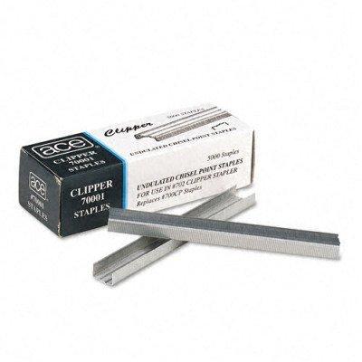 Clipper Stapler Advantus - ACE70001 - Undulated Staples for Lightweight Clipper Stapler