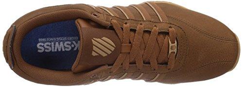 K-Swiss ARVEE 1.5 02453 - Zapatillas de deporte para hombre Braun (COWBOY/NUTMEG/ANTQ WHITE 231)