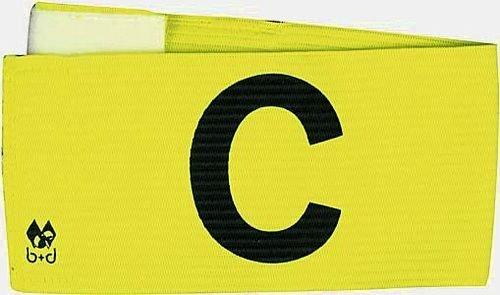 b+d Armbinde mit Klettverschluss zweifarbig, neongelb