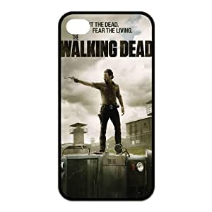 The Walking Dead - BroomCase Customized TPU couverture coque case cover pour Iphone 4 4s