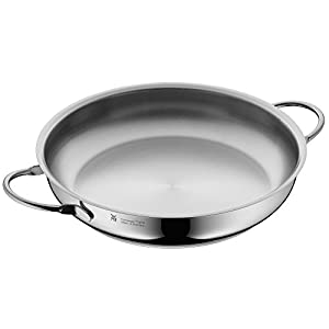 wmf serving pan uncoated 28cm profi made in germany pouring rim stainless steel handle. Black Bedroom Furniture Sets. Home Design Ideas
