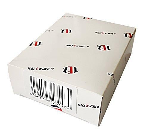 /&agr 10 x OVO/® 30MTPC1509 Chrome brillant 30mm Type de champignon Poign/ées en m/étal pour armoires les chambres et autres pi/èces vendu sous forme de paquet de 10 boutons armoires portes et tiroirs de meubles dans les cuisines