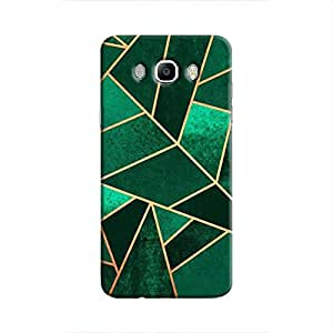 Cover It Up - Green Fractures Galaxy J7 2016 Hard case