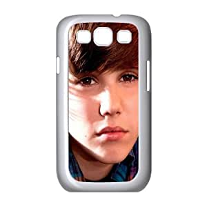 Justin-Bieber Samsung Galaxy S3 9300 Cell Phone Case White Rnepy