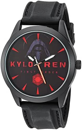 Star Wars Boy's Quartz Plastic Casual Watch, Color:Black (Model: SW7AQ070)