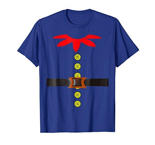 Elf Costume T-Shirt Santa Holiday Christmas Halloween