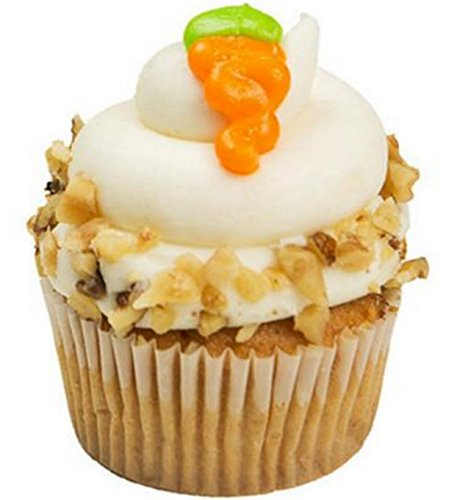 Carrot Cake Cupcakes - Dessert - Cream Cheese Frosting - Walnuts - 12 Pack - Baked Fresh Day of Order