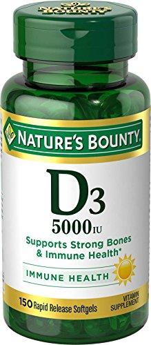 Natures Bounty Vitamin 5000 Softgels