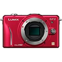 Panasonic Lumix DMC-GF2 12 MP Micro Four-Thirds Mirrorless Digital Camera with 3.0-Inch Touch-Screen LCD and 14mm f/2.5 G Aspherical Lens (Red) Noticeable Review Image