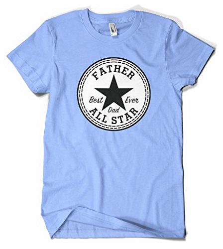 Ptshirt.com-19407-Father Best Dad Ever All Star Men\'s T-shirt-B01GERBPO2-T Shirt Design