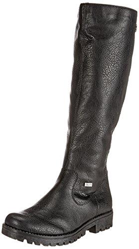 Rieker 78554 Bottes Noires Dames (noir 00)