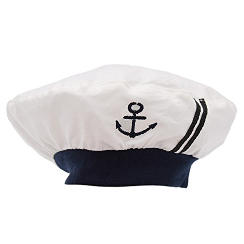 Towashine Baby Nautical Sailor Hats Newborn Infant Sailor Outfit Girl Boy