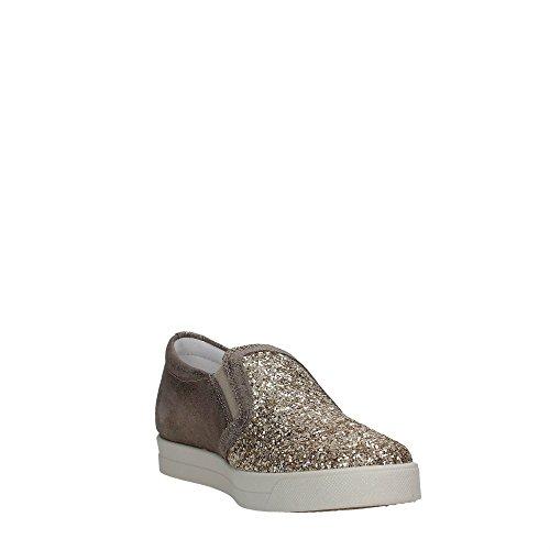 donna e slip italy Igi sneaker TAUPE ORO glitter pelle on Scarpa Taupe made in amp;co 7790 CvtRqS