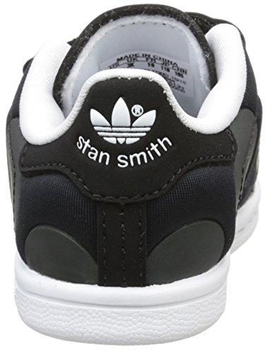 adidas Unisex Baby Stan Smith Xenopeltis CF Lauflernschuhe Schwarz - Noir (Core Black/Core Black/Ftwr White)