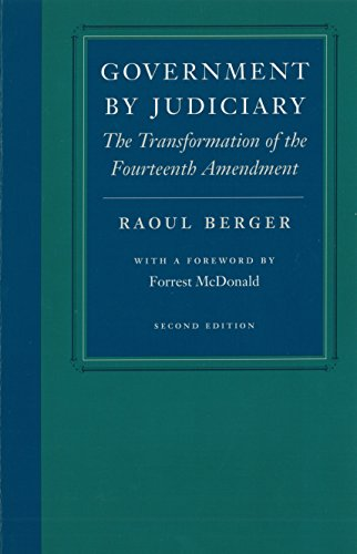 Power Filter Liberty - Government by Judiciary (Studies in Jurisprudence and Legal Hist)