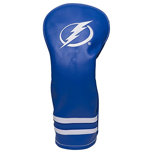 - Team Golf NHL Tampa Bay Lightning Vintage Fairway Golf Club Headcover, Form Fitting Design, Retro Design & Superb Embroidery