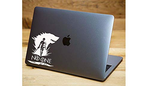 Die-Cut Vinyl Decal with Arya Stark Set v2w Game of Thrones Quotes Fan-Art for Laptop MacBook car Vinyl Decal Sticker