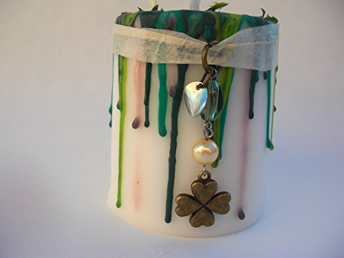 Good Luck Magic Spell Candle, St Patricks Day, Bring Good Luck, Lucky Money Spell Candle, Increase Wealth