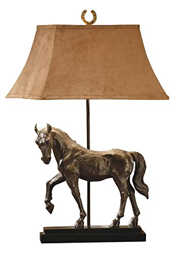 Crestview Collection Horse Creek Resin Table Lamp