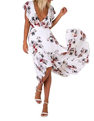 VLUNT - Vestido - para mujer blanco
