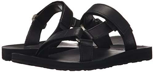 black And Blk Sandal Leather Universal Black Lifestyle Outdoor Teva Original Slide Sports Women's qSwPfg