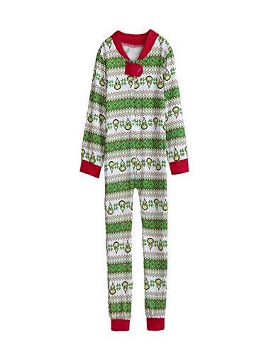 COPPEN Family Matching Pajamas Set Women Kid Sleepwear Nightwear 2018 Christmas Sleepwear - Wear Z Dragon Sleep Ball