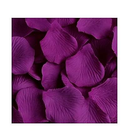 Amazon 1000 silk rose petals lapis deep purple home kitchen 1000 silk rose petals lapis deep purple mightylinksfo