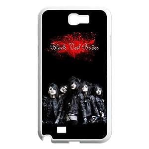Samsung Galaxy Note 2 N7100 Phone Case for BVB Classic theme Black Veil Brides pattern design GQCTBKVBS776536