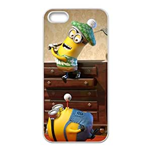 Cartoon lovely Minions cute cell phone case for iPhone 5S