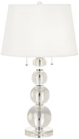 Vienna Full Spectrum Stacked Crystal Spheres Table Lamp Amazon Com