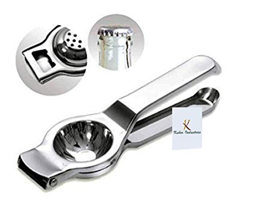 Kuber Industries™ Lemon Squeezer with Bottle Opener Attached Stainless Steel (2 in one) L06 Price & Reviews