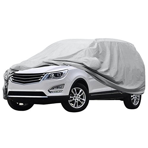 AUDEW Car Covers Waterproof /Windproof/Dustproof/Scratch Resistant Car Cover Sun Outdoor UV Protection Full Car Cover For SUV Car 204''