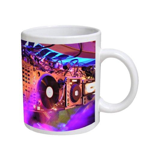 Nightclub Dj Rig Coffee Cup