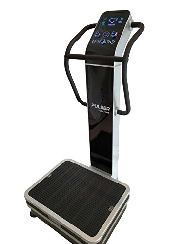 Pulser 2 Whole Body Vibration Machine; Newest 2016 Dual Vibration, 3 Vibration Modes; Premium Home; 440 Lb Limit, Rear Wheels by Vmax Fitness