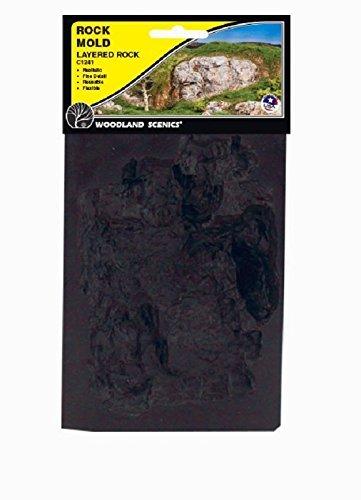 (Woodland Scenics Rock Mold Layered Rock by Woodland Scenics)