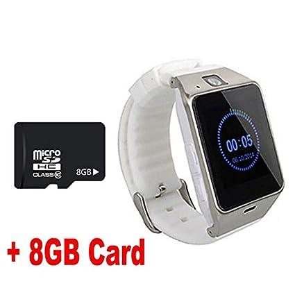 Amazon.com: BeesClover Smart Watch Aplus GV18 Clock Sync ...