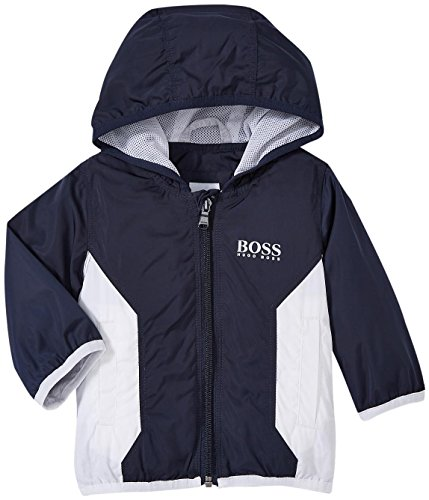 HUGO BOSS Windbreaker, Blue, 0-3 Months Baby by Hugo Boss